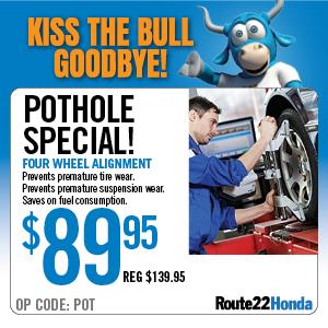 Pothole Special - $89.95