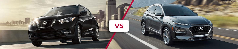 2020 Nissan Kicks Crossover Compared To The Hyundai Kona
