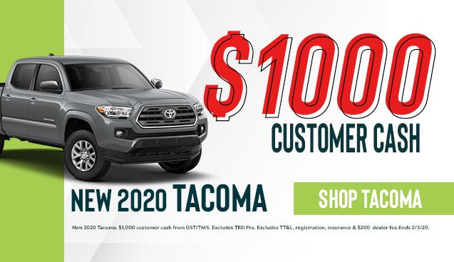 New 2020 Tacoma