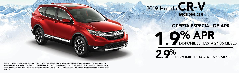 2019 Honda CR-V Modelos