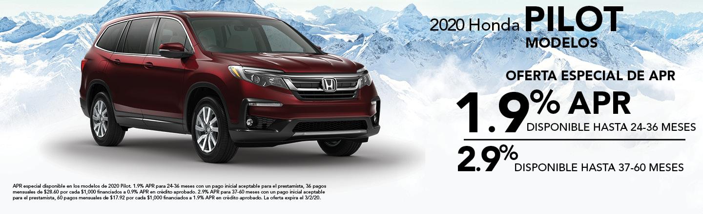 2019 Honda Pilot Modelos