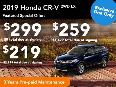 2019 CR-V 2WD LX