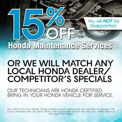Honda Maintenance Services