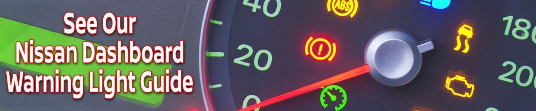 Car Dashboard with Warnign Lights