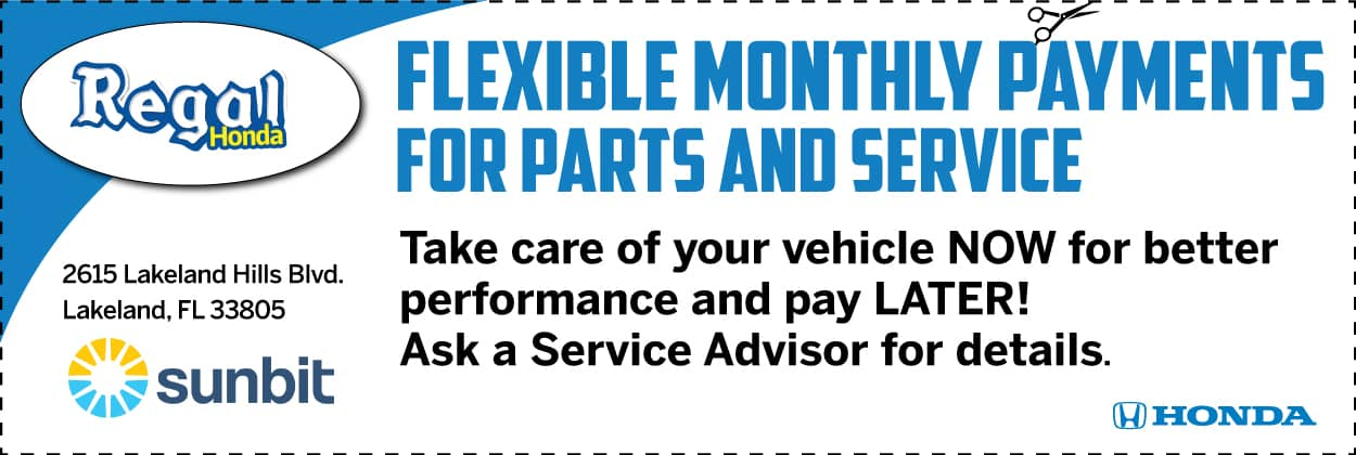 Flexible Monthly Payments