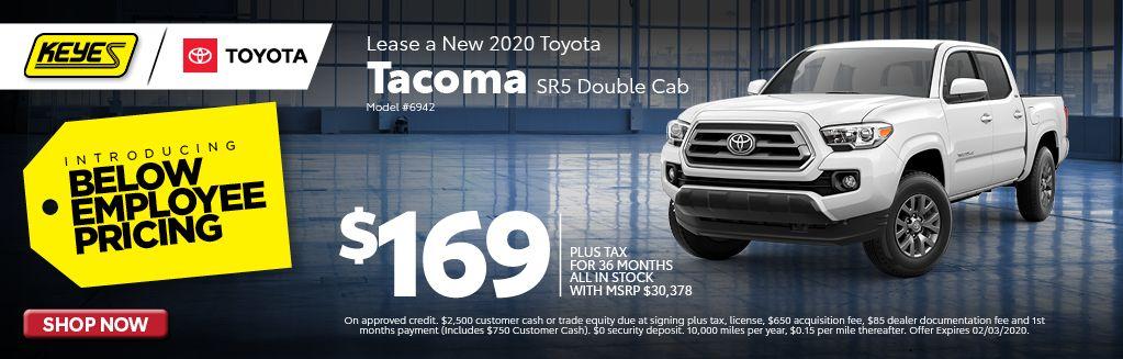 2020 Tacoma SR5