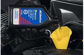8-QT DEXOS1® OIL CHANGE