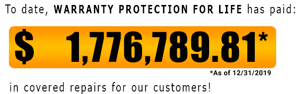 warranty protection for life counter