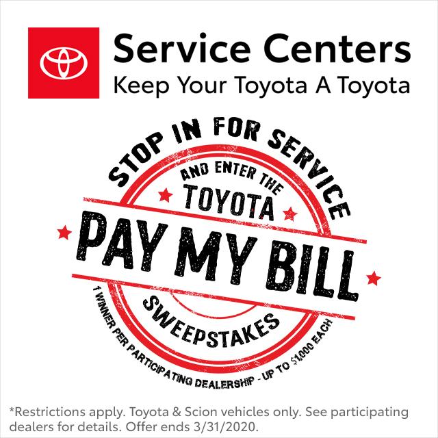 Toyota Sweepstakes