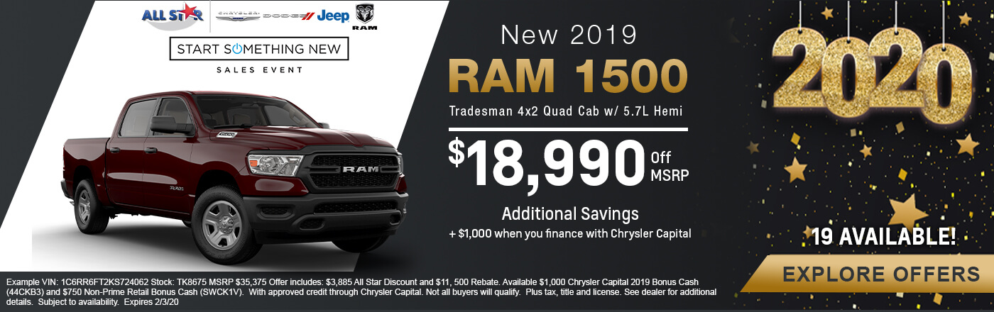 Ram 1500 Tradesman Hemi