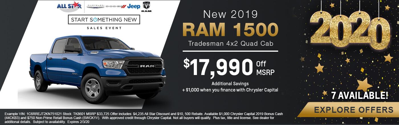 Ram 1500 Tradesman