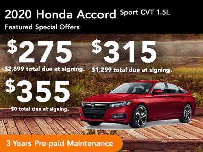 2020 Accord Sport 1.5T CVT