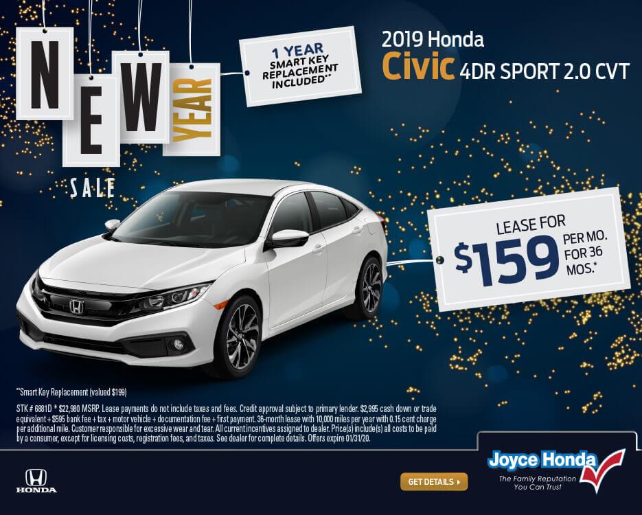 2019 Civic Sedan Sport