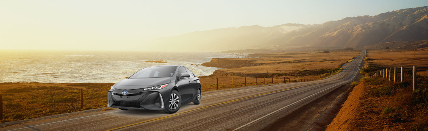 2020 prius prime On Road
