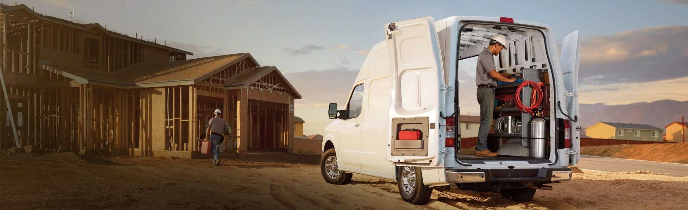 The Nissan Commercial NV2500 HD Cargo Van Is Available In Tomball, TX