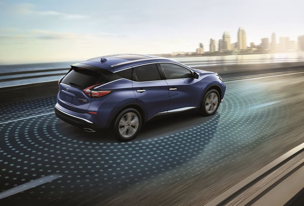 2020 Nissan Murano Safety