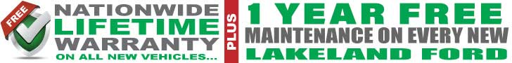 Nationwide lifetime warranty