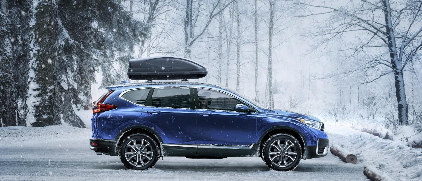 2020 Honda CR-V in snow
