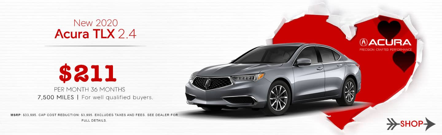2020 TLX lease