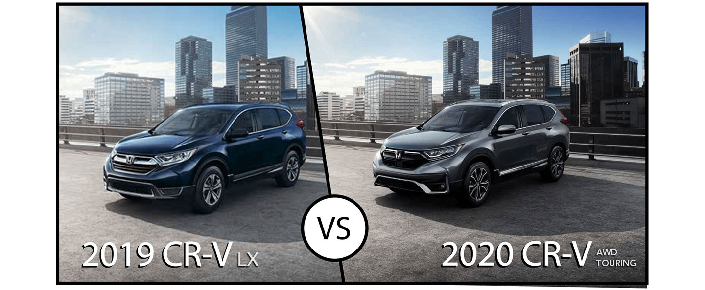 Comparison Guide: 2020 Honda CR-V vs 2019 Honda CR-V - What's New?