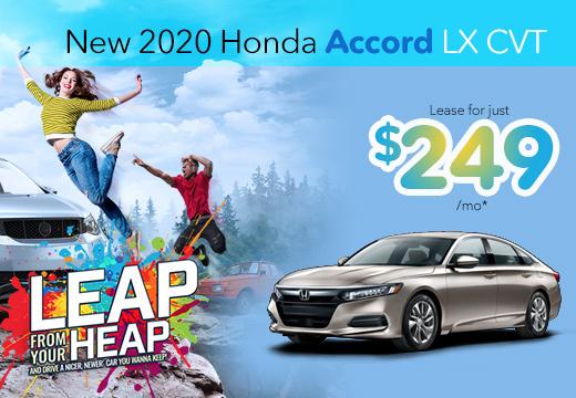 New 2020 Honda Accord Vatland Honda