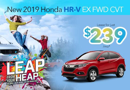 New 2019 Honda HR-V EX Vatland Honda