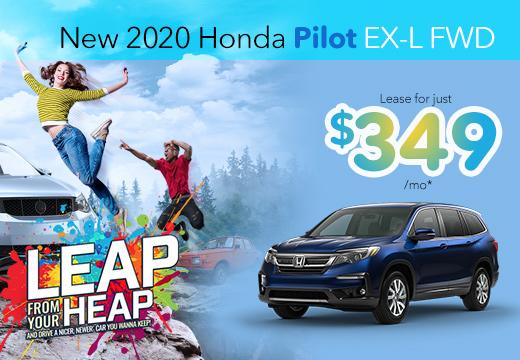 New 2020 Honda Pilot Vatland Honda