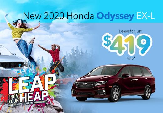 New 2020 Honda Odyssey Vatland Honda