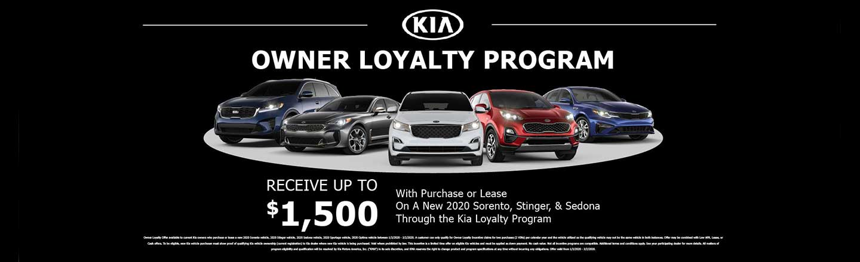 Kia Owner Loyalty Program