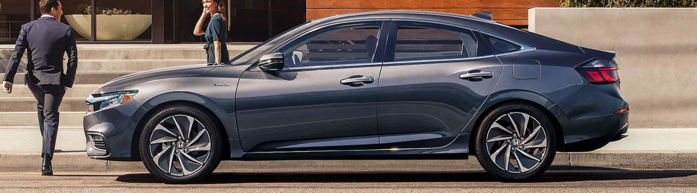 metallic grey 2020 Honda Insight