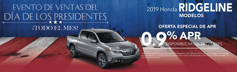Honda Ridgeline Models