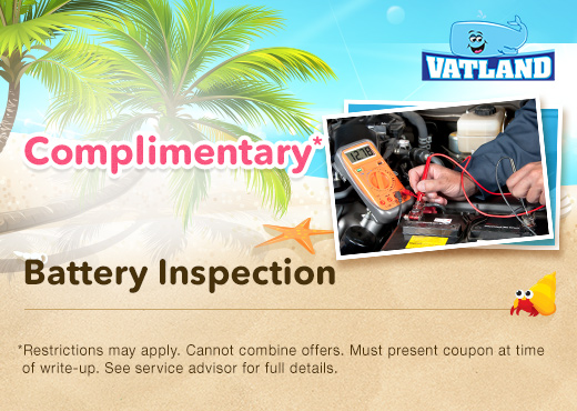 Honda Battery Inspection Special