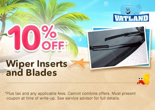 Wiper Inserts and Blades Special
