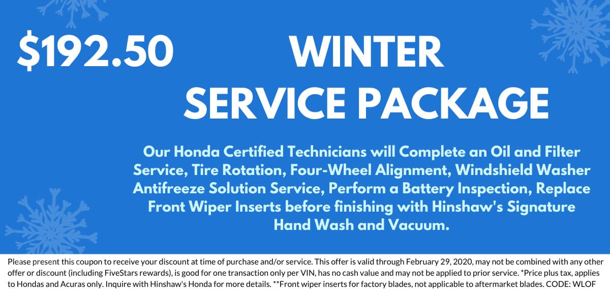 Winter Service Package