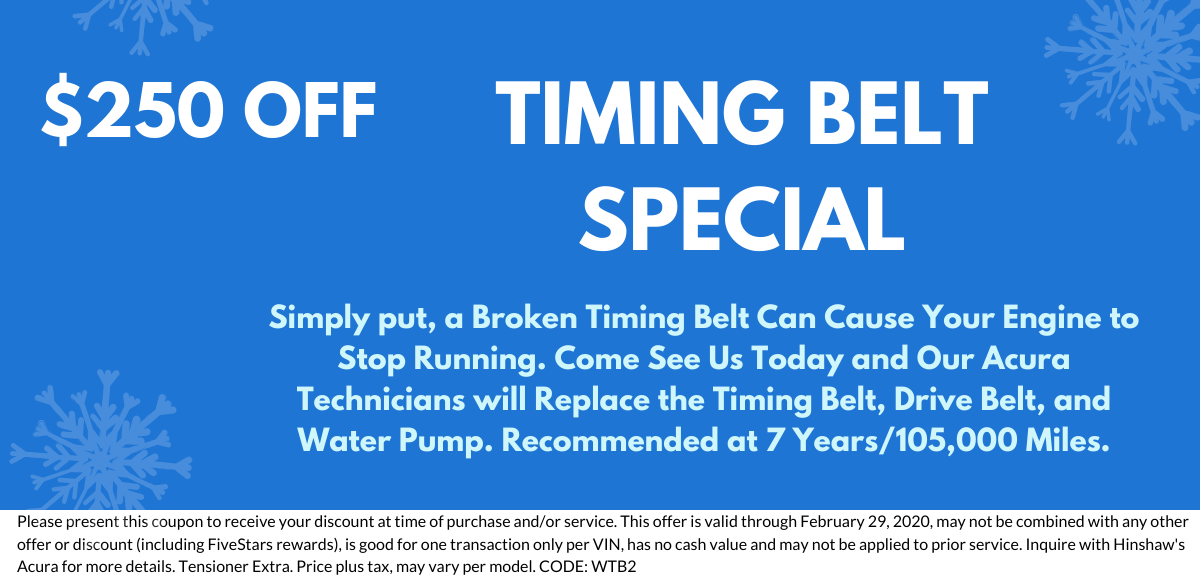 Timing Belt Special