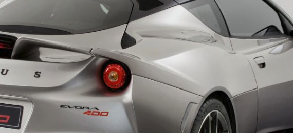 evora 400 aerodynamics