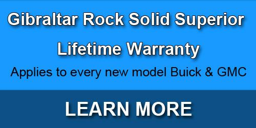 Gibraltar Rock Solid Superior Lifetime Warranty