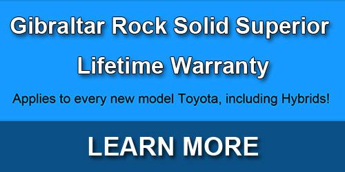 Gibraltar Rock Solid Superior Lifetime Warranty