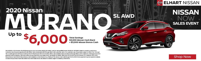 2019 Nissan Murano SL AWD