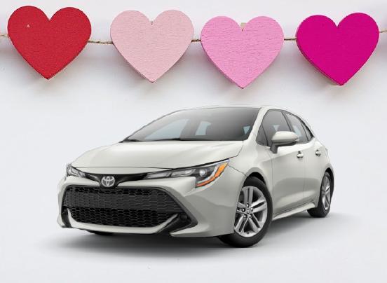 <small>2020 Toyota</small> Corolla Hatchback