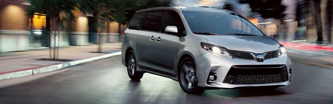 2020 Toyota Sienna Parked