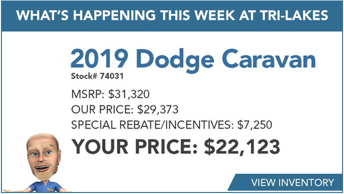 What's Happening 2019 Dodge Caravan