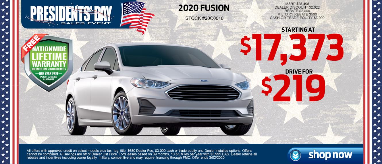 Ford Fusion at Lakeland Ford