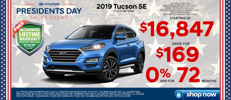 Hyundai Tucson at Lakeland Hyundai