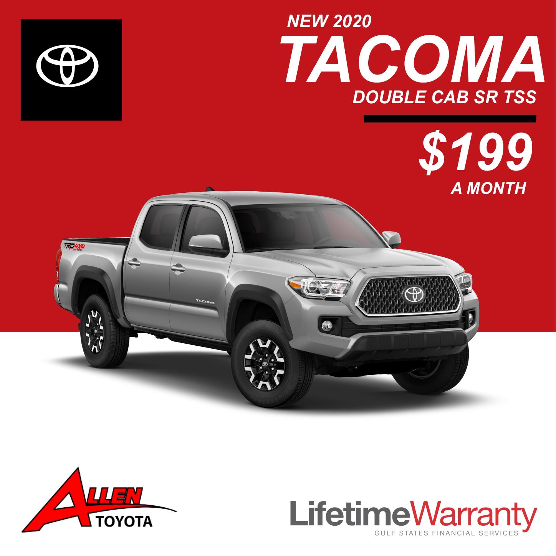 Lease a New Tacoma