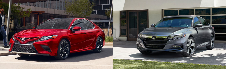 Mid-Size Sedan Comparison: 2020 Toyota Camry Versus 2020 Honda Accord