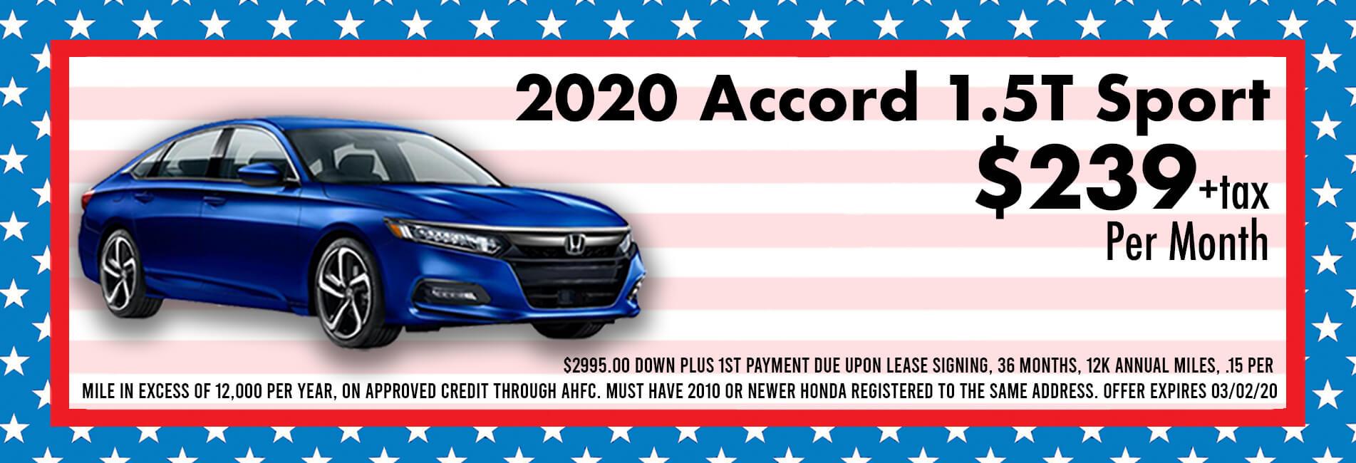 2019 Accord LX