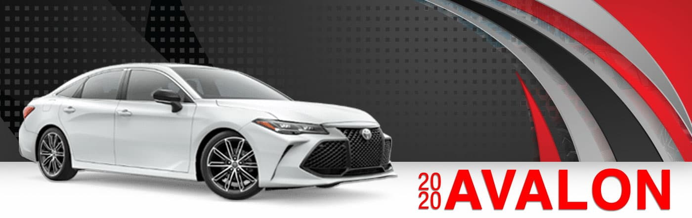 2020 Avalon On Road at Stevinson East Toyota