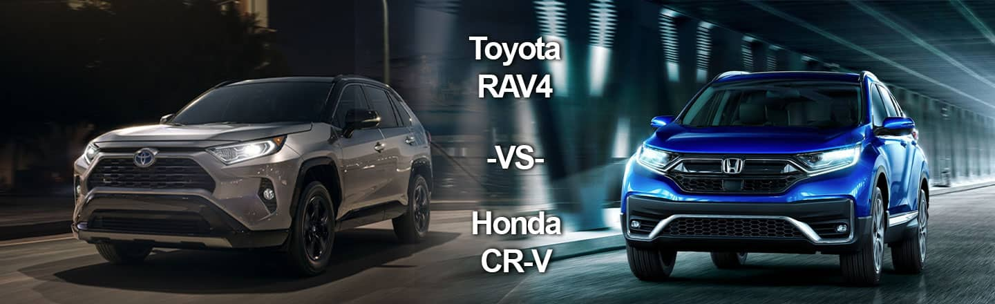 2020 Toyota RAV4 Crossover versus 2020 Honda CR-V In Granbury, Texas