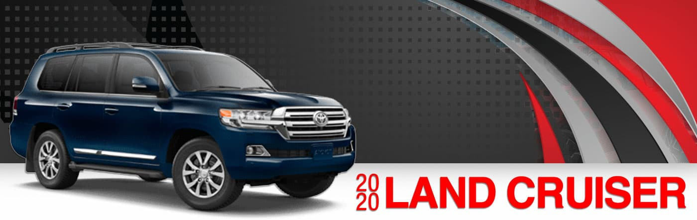 2020 Land Cruiser On Road at Stevinson East Toyota